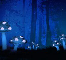 Alternative Realm Series - Mushroom Garden by PixieB1979
