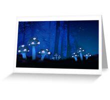 Alternative Realm Series - Mushroom Garden Greeting Card
