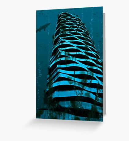 Underwater apartment... Greeting Card