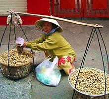 Peanut Woman by dozzam