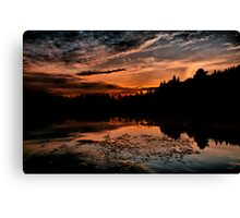 HDR Sunset Canvas Print