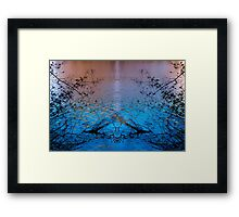 Lady of the Lake holds the Chalice Framed Print