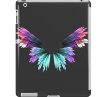 Angel colored wings iPad Case/Skin
