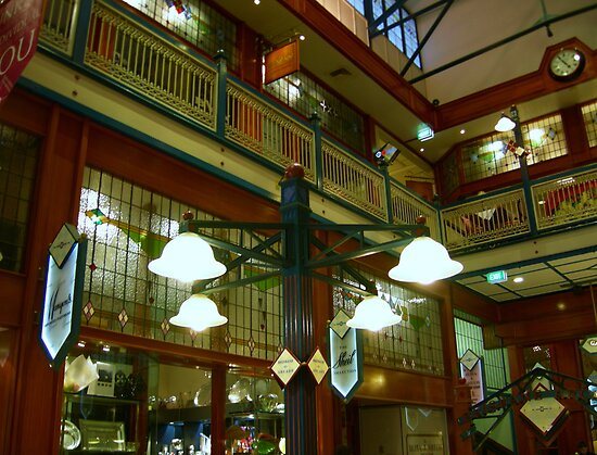 Lights in Arcade by JuliaWright