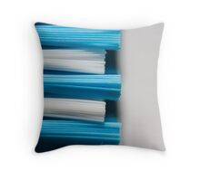 The tooth sweeper Throw Pillow