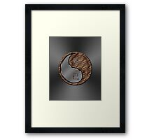 Rabbit Yin Earth Framed Print