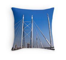 Nelson Mandela Bridge - Johannesburg Throw Pillow