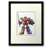 Mighty Morphin Power Rangers Megazord Framed Print