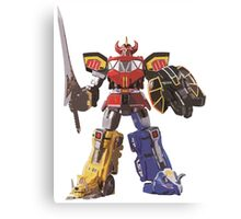 Mighty Morphin Power Rangers Megazord Canvas Print