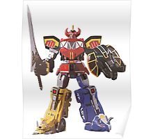 Mighty Morphin Power Rangers Megazord Poster