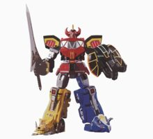 Mighty Morphin Power Rangers Megazord Kids Clothes