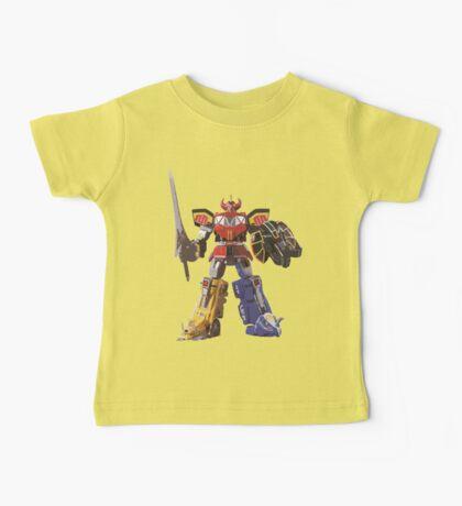Mighty Morphin Power Rangers Megazord Baby Tee