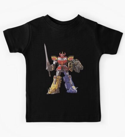 Mighty Morphin Power Rangers Megazord Kids Tee