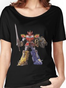 Mighty Morphin Power Rangers Megazord Women's Relaxed Fit T-Shirt