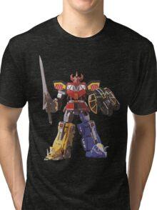 Mighty Morphin Power Rangers Megazord Tri-blend T-Shirt