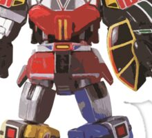 Mighty Morphin Power Rangers Megazord Sticker