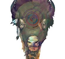 Bison by Ellen McAleavey