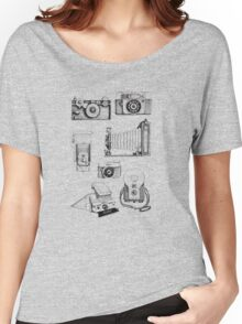 Vintage Camera Collection Women's Relaxed Fit T-Shirt
