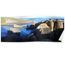 Elephant Rocks Panorama Poster