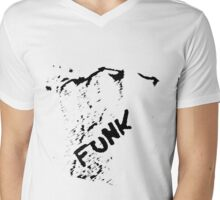 Funk. Mens V-Neck T-Shirt