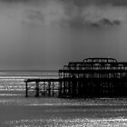 West Pier Brighton 1 by Tony Hadfield