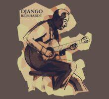Django Reinhardt by ArtoJ