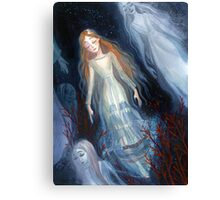 Water Sisters Canvas Print