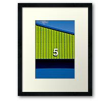 Unit 5 Framed Print