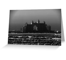 Atlantis The Palm Hotel Dubai Greeting Card