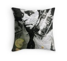 Wasted Throw Pillow