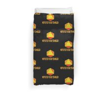Go fourth time travelers, and remember the future is what you make it! Duvet Cover