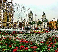 Plaza de Armas, Lima, Peru by vadim19