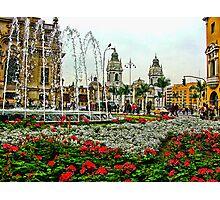 Plaza de Armas, Lima, Peru Photographic Print