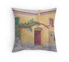 Jasimine Samos, Greece Throw Pillow