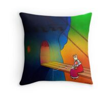 Holiday at Home Throw Pillow