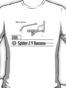 Spider 2 Y Banana T-Shirt