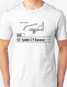 Spider 2 Y Banana Unisex T-Shirt
