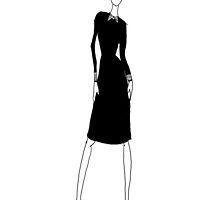 Collared Dress by latoula