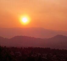 Sunset Haze by Gregory Ewanowich