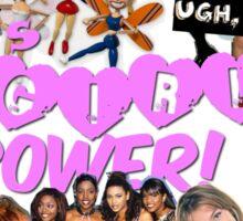 90'S GIRL POWER TEE OMG Sticker
