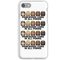Princesses Print iPhone Case/Skin