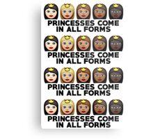 Princesses Print Metal Print