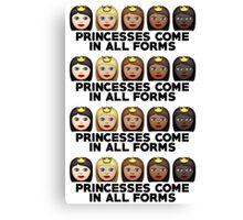 Princesses Print Canvas Print