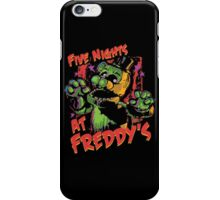 Five Nights At Freddy's Phantom Freddy iPhone Case/Skin
