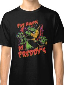 Five Nights At Freddy's Phantom Freddy Classic T-Shirt