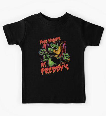 Five Nights At Freddy's Phantom Freddy Kids Tee