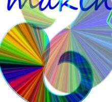 makin' music Sticker
