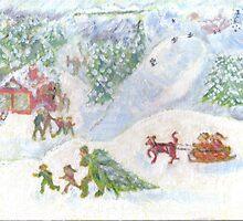 Winter Wonderland by MadBrushArt