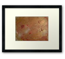 DELICATE LACE Framed Print