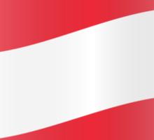 Flag of Austria  Sticker